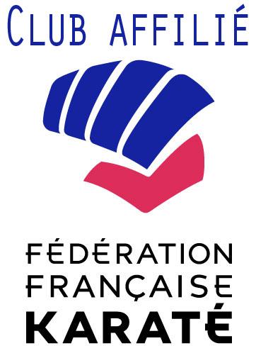 Club affilié à la Fédération française de karaté